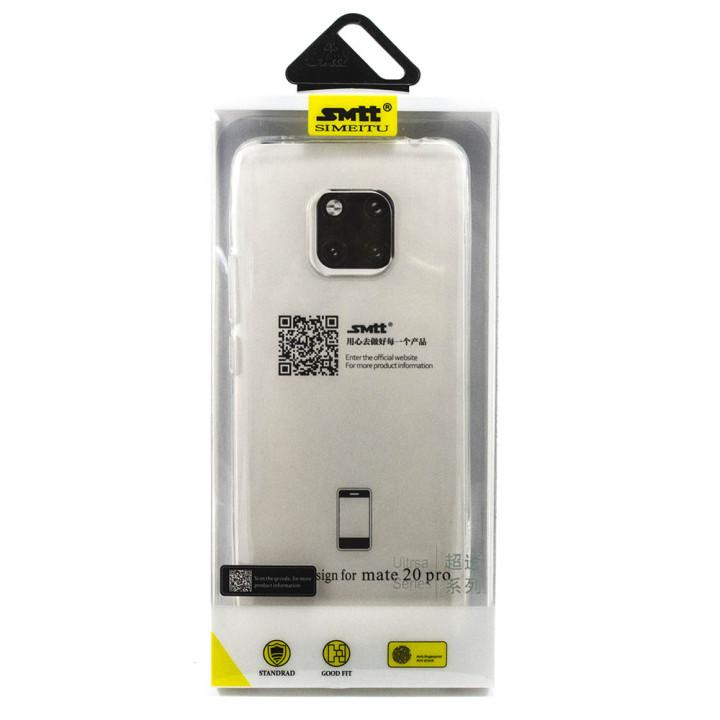 Защитный чехол SMTT Simeitu для Huawei mate 20 pro TRANSPARENT