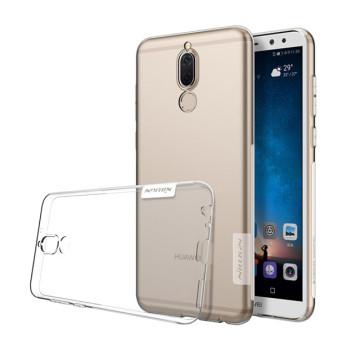 Прозрачный силиконовый чехол Nillkin Nature TPU case для Huawei Mate 10 Lite, Nova 2i clear white