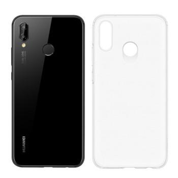 Прозрачный силиконовый чехол Slim Premium для Huawei P20 Lite