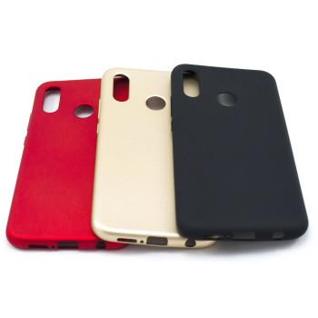 Силиконовый матовый чехол накладка ROCK для Huawei P20 Lite