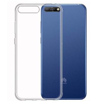 Прозрачный силиконовый чехол Slim Premium для Huawei Y6 2018