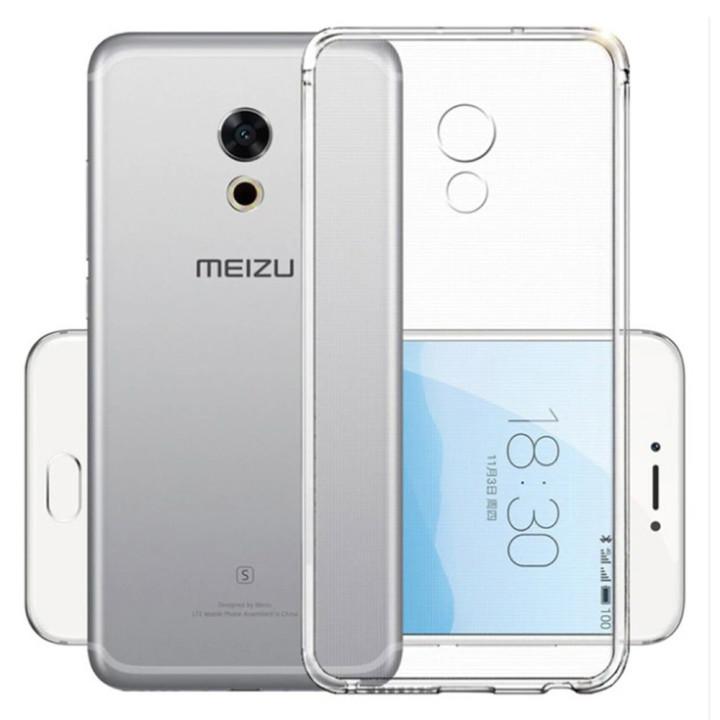 Прозрачный силиконовый чехол для Meizu 15
