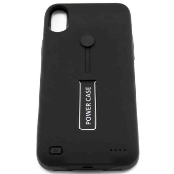 Чехол-батарея Power Case Back Clip Holder 5800mAh для Apple iPhone X (XS), Black