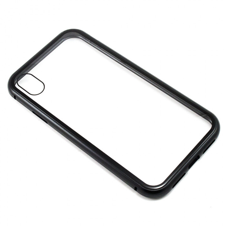 Накладка бампер магнит Bakeey Metal Frame для Apple Iphone XS Max, Black