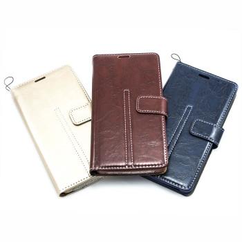 """Универсальный чехол-книжка Levol Leather для смартфонов 4.5 """"- 4.8"""""""