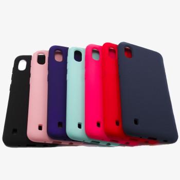 Чехол-накладка New Silicone Case для Samsung Galaxy A105 (A10)