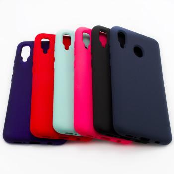 Чехол-накладка New Silicone Case для Samsung Galaxy A205 (A20)