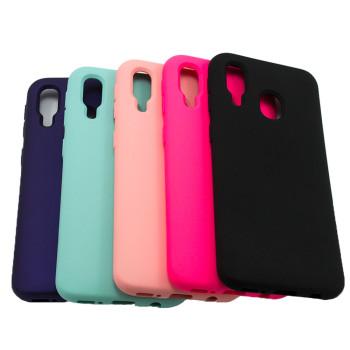 Чехол-накладка New Silicone Case для Samsung Galaxy A40 (A405)