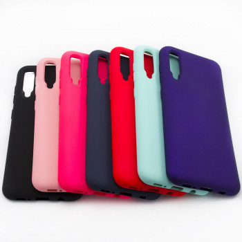 Чехол-накладка New Silicone Case для Samsung Galaxy A505 (A50)
