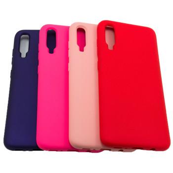 Чехол-накладка New Silicone Case для Samsung Galaxy A70 (A705)