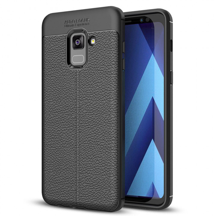 Чехол накладка Auto Focus для Samsung Galaxy A8 2018