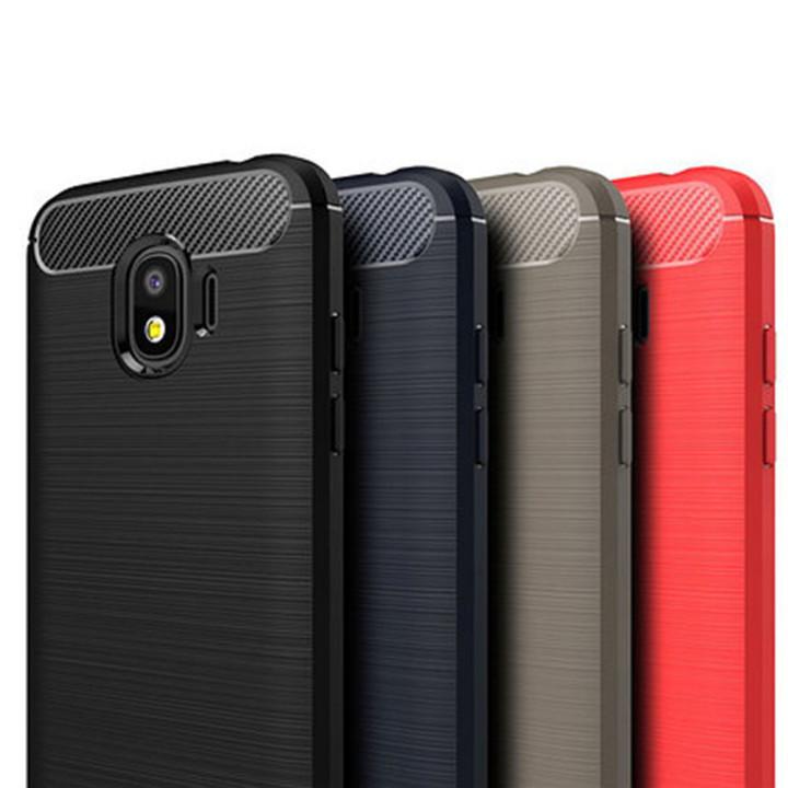 Чехол накладка Polished Carbon для Samsung Galaxy J2 2018