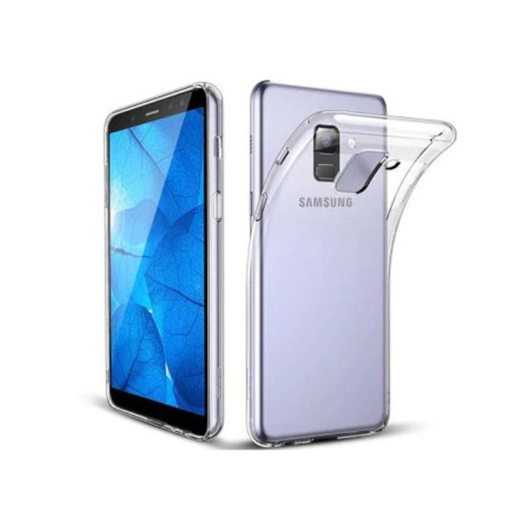 Прозрачный силиконовый чехол для Samsung Galaxy J810 J8 2018