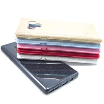 Силиконовый чехол накладка Fashion Case Glitter 3 in 1 для Samsung Galaxy Note 9
