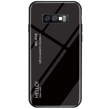 Чехол-накладка Gradient HELLO для Samsung Galaxy S10E