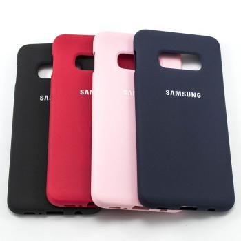 Чехол-накладка Silicone Case для Samsung Galaxy S10e