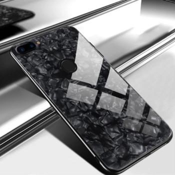 Чехол Marble Glass Case для Xiaomi Mi 8 Lite