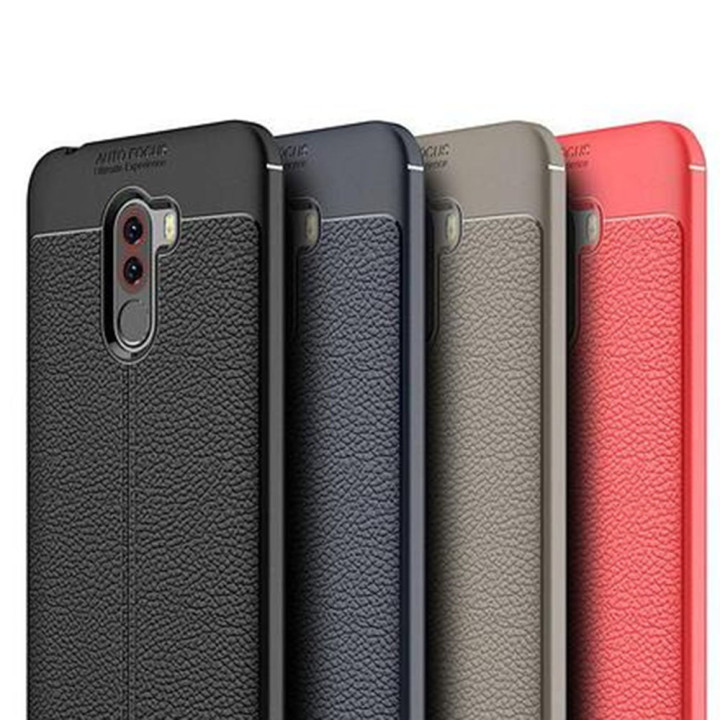 Чехол накладка Auto Focus для Xiaomi Pocophone F1