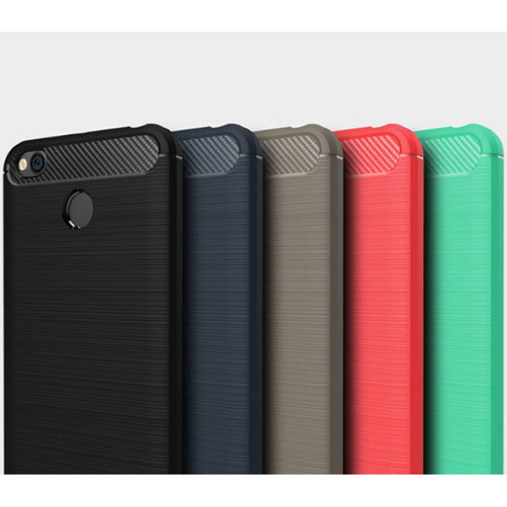Чехол накладка Polished Carbon для Xiaomi Redmi 4X