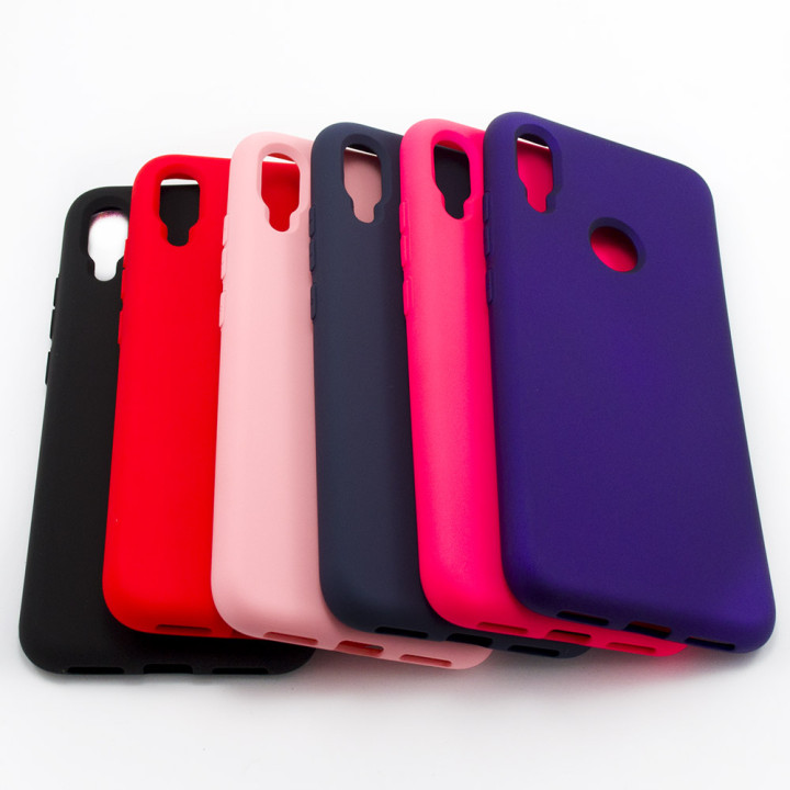 Чехол-накладка New Silicone Case для Xiaomi Redmi Note 7