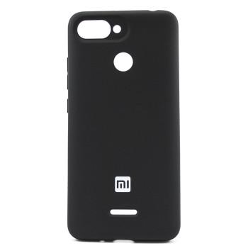 Чехол-накладка Silicone Case для Xiaomi Redmi 6