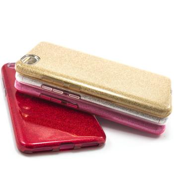 Силиконовый чехол накладка Fashion Case Glitter 3 in 1 для Xiaomi Redmi Note 5A