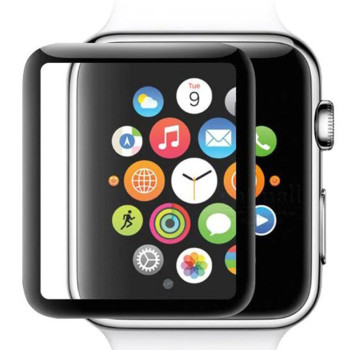 Захисне скло 5D Tempered Glass для Apple Watch 40mm, Black