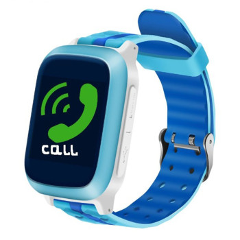Smart Baby watch DS18 GPS трекер Blue
