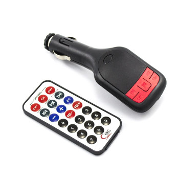 Автомобильный FM-модулятор (трансмиттер) MHZ FM-02 Black