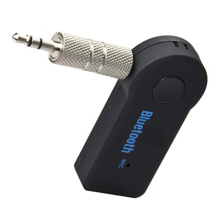 Bluetooth адаптер BT350 AUX в авто, Black