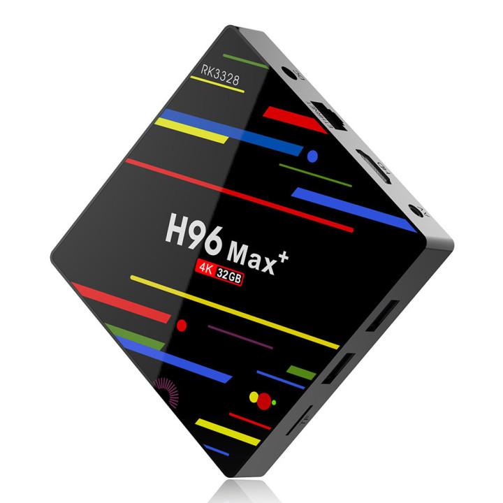 Приставка Smart TV Box H96 Max Plus 4/32GB Android 9.0, Black