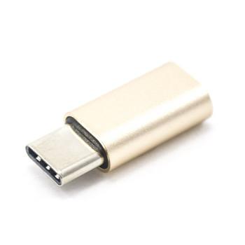 Переходник OTG C&Q Metal Micro USB - Type-C