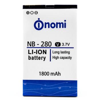 Аккумулятор NB-280 для Nomi i280 (Original), 1800 mAh