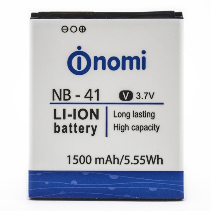 Аккумулятор NB-41 для Nomi i400, 1500мAh (Original)