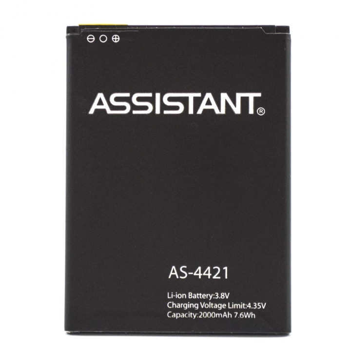 Аккумулятор для Assistant AS-4421, 2000 мAh (Original)