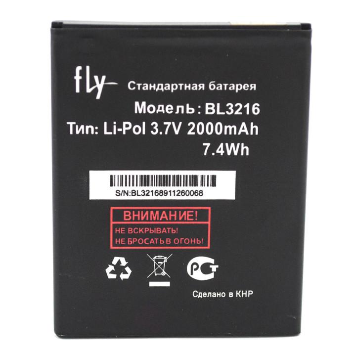 Аккумулятор BL3216 для Fly IQ4414 Evo Tech 3 Quad (Original) 2000мAh