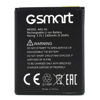 Аккумулятор для Gigabyte GSmart Aku A1, 1400мAh