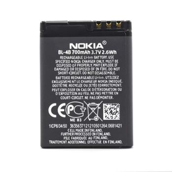 Аккумулятор BL-4B для Nokia 2630, Nokia 2760, Nokia 5000, 700мAh