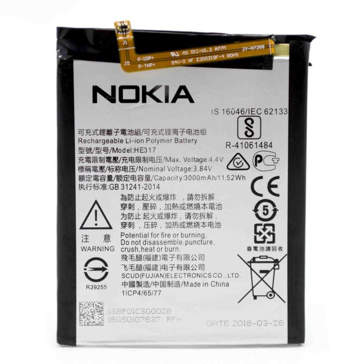 Аккумулятор HE317 для Nokia 6 (Original) 3000мAh