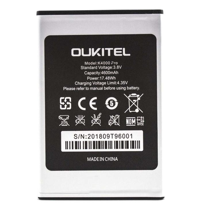 Акумулятор для Oukitel K4000 Pro (Original) 4600mAh