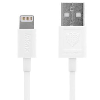 DATA-кабель Inkax CK-13 Lightning 1м, White