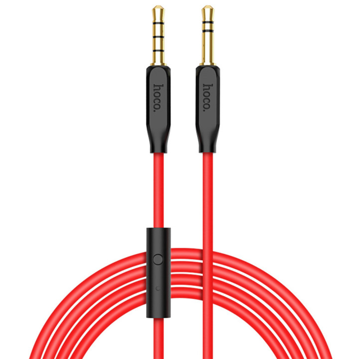 Aux кабель Hoco UPA12 1м Black