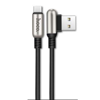 DATA-кабель Hoco U17 Type-C, Black 1.2 м