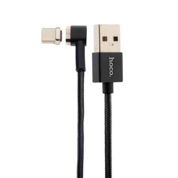 DATA-кабель Hoco U20 Magnetic Type-C 1м Black