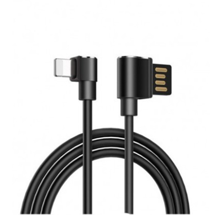DATA-кабель Hoco U37 Lightning, Black 1.2м