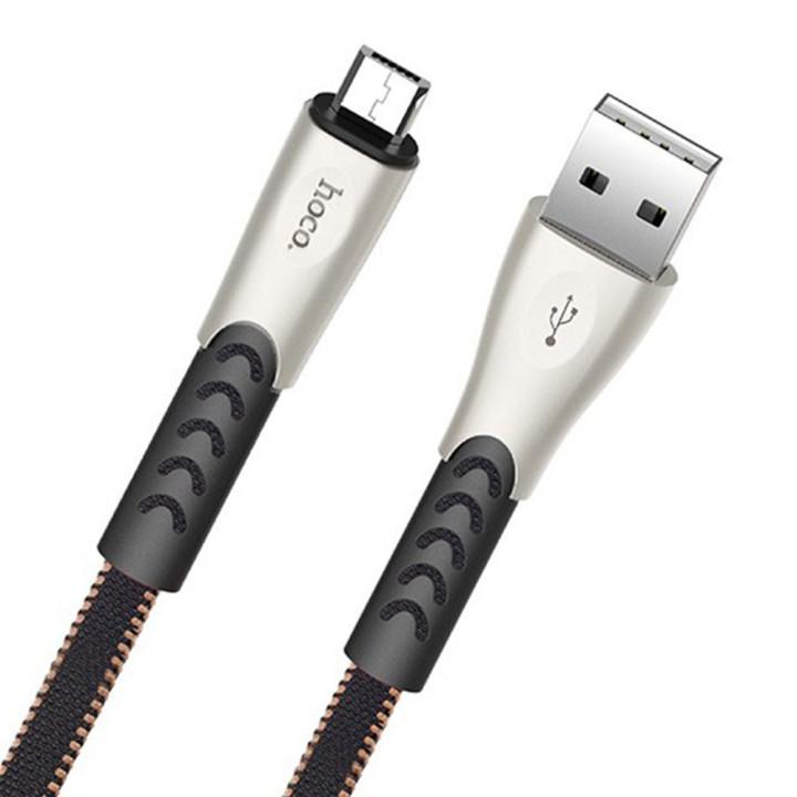 DATA-кабель Hoco U48 Superiror Speed Micro 1,2м Black