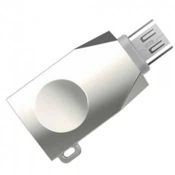 Переходник OTG Hoco UA10 USB - Micro USB Stell