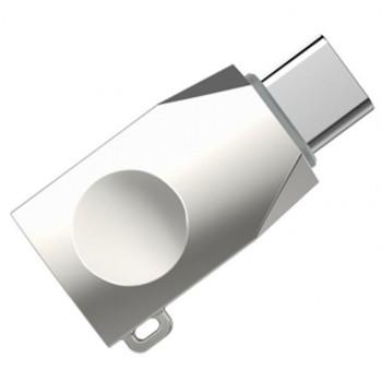 Переходник OTG Hoco UA9 USB - Type-C Stell