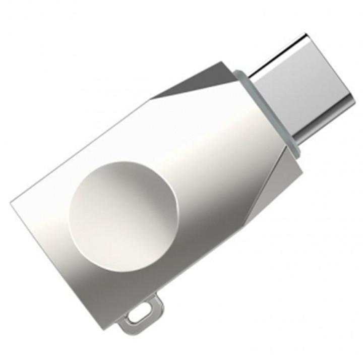 Перехідник OTG Hoco UA9 USB - Type-C Stell