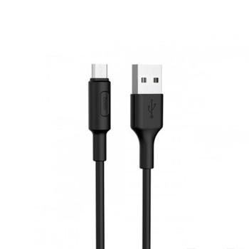 DATA-кабель Hoco X25 micro USB 1м Black